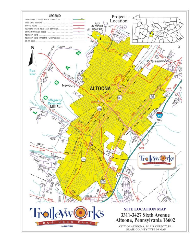 Page Map Site: Trolleyworks Main Page