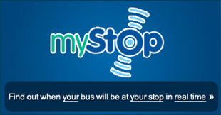 myStop - find out when your bus will be at your stop in REAL TIME